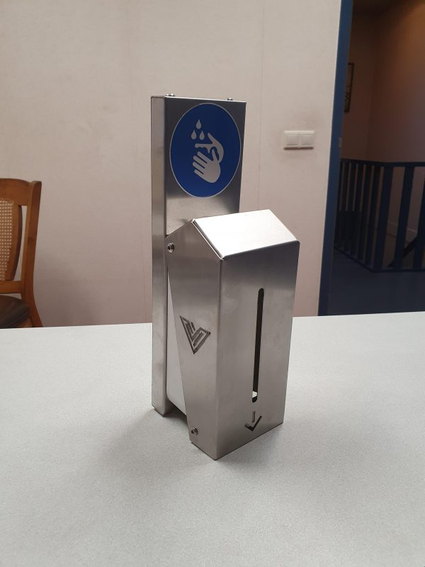 RVS zeepsipenser Wandmodel